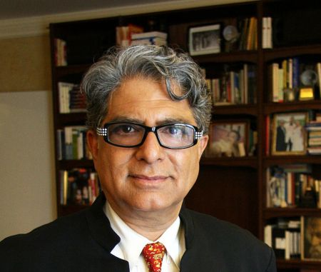 Deepak Chopra - a well known Indian American medical doctor and author and great example of  that high achieving group