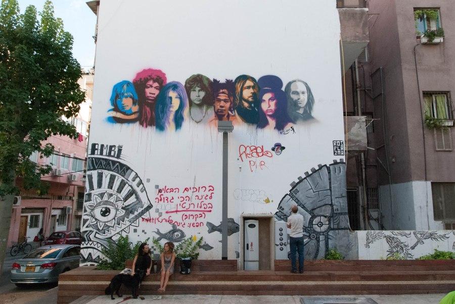 Graffiti_Tel_Aviv,_Khayim_Ben_Atar_St_-_front_wide